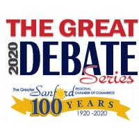 Great Debate Series-This date CANCELLED