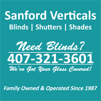 Sanford Verticals - Blinds, Shutters, & Shades