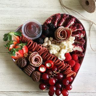 Small Valentines Heart Graze