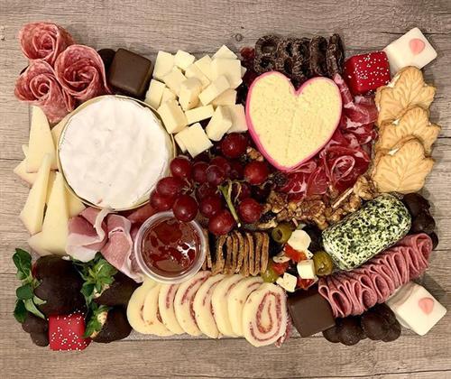 Medium Valentine's Day Grazing Board