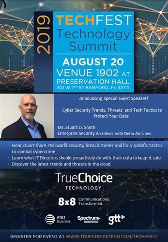TrueChoice Technology TechFest August 20th 2019