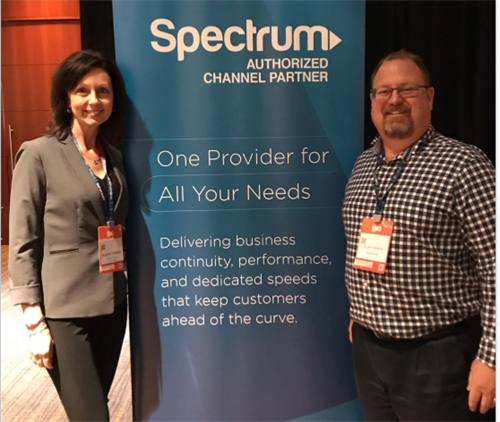 CEO Scott Williams and Spectrum VP Michelle Kadlacek