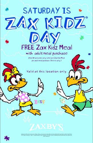 Kidz Eat FREE