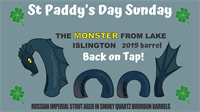 St Paddy's Day Sunday - Monster RIS Re-tapping