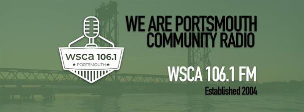WSCA 106.1 FM, Portsmouth Community Radio