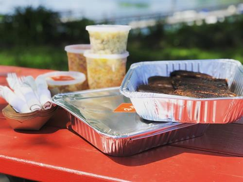 Catering to go from Ore Nell's Barbecue