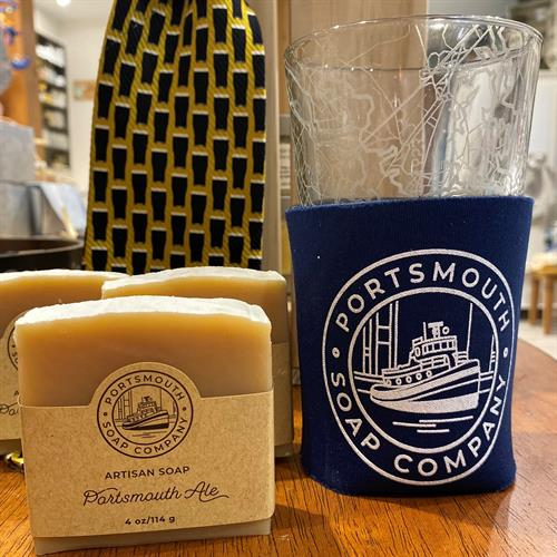 Men's Collection - Portsmouth Ale Handmade Soap