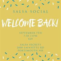 September Salsa Social