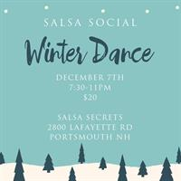 December Salsa Social with Salsa Secrets