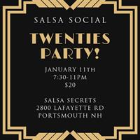 January Salsa Social with Salsa Secrets