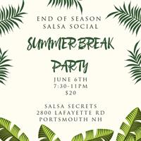 June Salsa Social with Salsa Secrets
