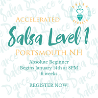 Accelerated Level 1 Salsa with Salsa Secrets