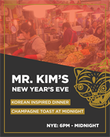New Year's Eve at Mr. Kim's