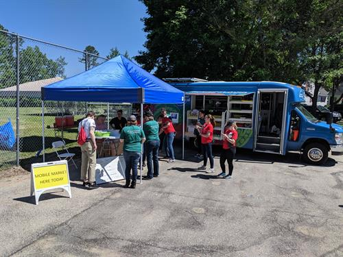 Mobile Market workplace stop as an employee perk