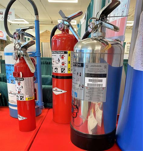 Fire Extinguisher Options