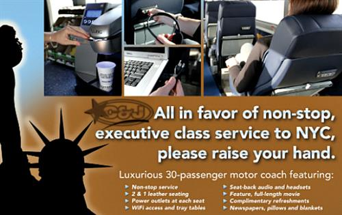 All the reasons to try our NYC service!