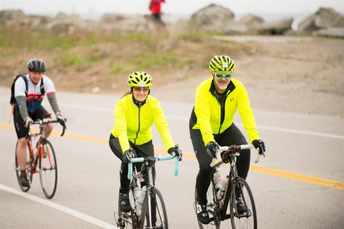 Cyclists at Cycle the Seacoast