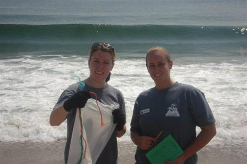 Blue Ocean Society volunteers conduct over 200 beach cleanups each year.