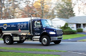 Petro Home Services Heating Oil truck