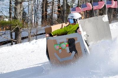 The Cardboard Box Race