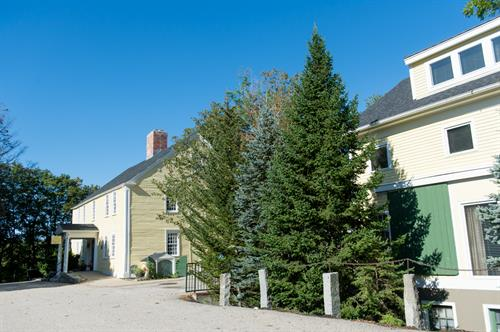 Exterior shot of Three Chimneys Inn