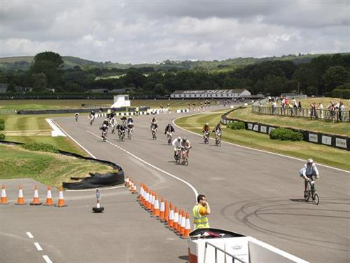 Trip to U.K. for the Brompton folding bike races at Goodwood