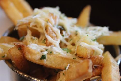 Paremsan Truffle Fries