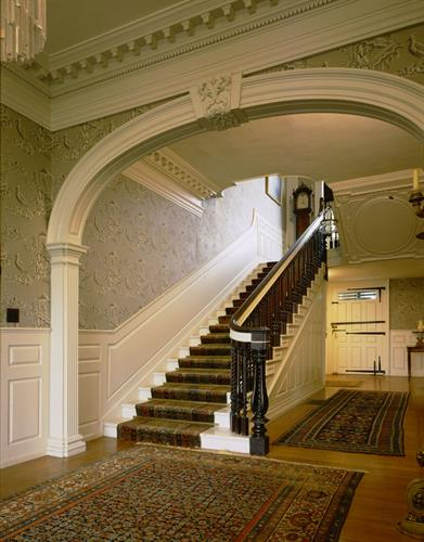 Entrance Hall, Governor John Langdon House
