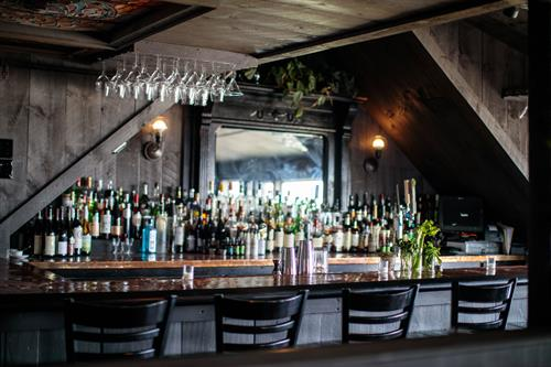 The Carriage House upstairs bar