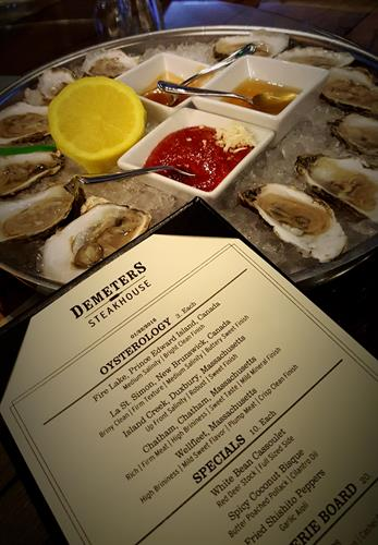 Nightly Specials: Featured Oysterology