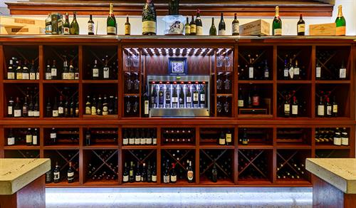 Enomatic Wine Display