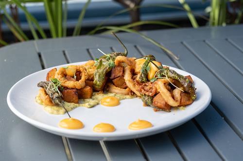 Calamari at Jumpin' Jay's Fish Cafe