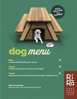 Ri Ra Irish Pub & Restaurant Offers Dog Menu