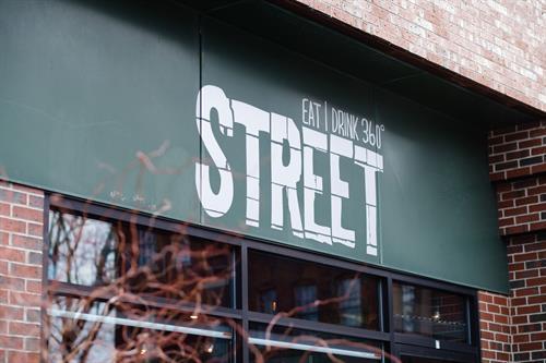 Street restaurant in Portsmouth's West End