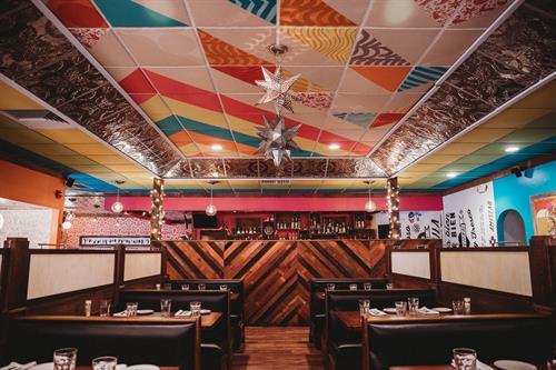 Dining room at Vida Cantina