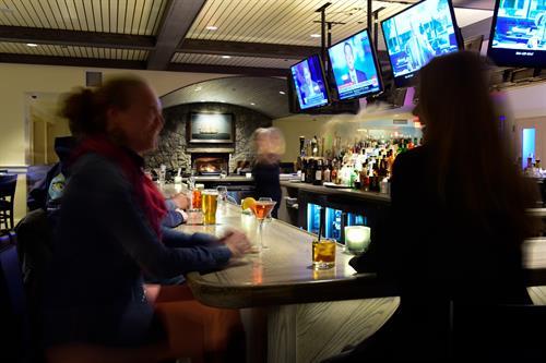 Beautiful four sided bar.