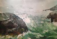 Big Bold Seascapes Watercolor Workshop offered at NH Art Association