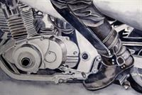 If The Shoe Fits -Watercolors by Susan Peterson at NHAA Gallery