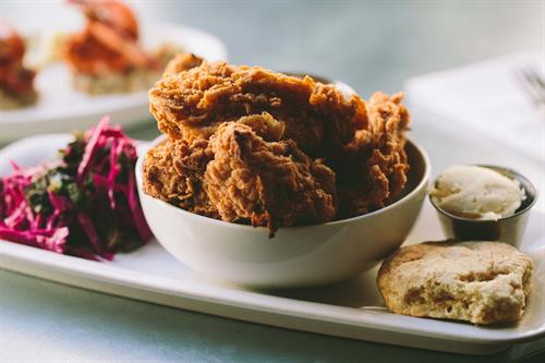 Fried Chicken at The Franklin