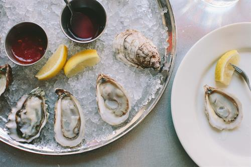 Oysters at The Franklin