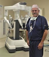 Dr. Jeffrey Segil Marks 500th Robotic Surgery