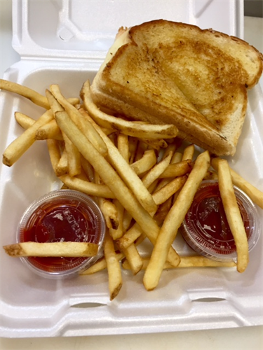 Grilled Cheese and Fries (perfect for kids)