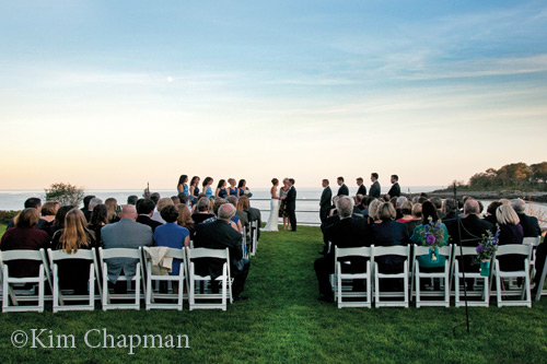 Oceanfront ceremonies where the York River meets the Atlantic Ocean.
