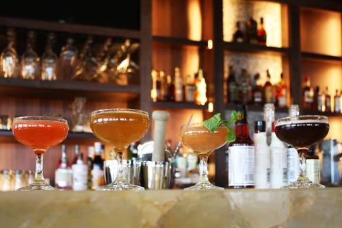 Full bar service, craft beers, signature cocktails.