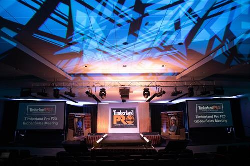 Malloy Events produces Timberlands global sales meeting