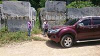 TSN Portoro marble blocks