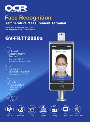 Facial Recognition TouchessThermal Measurement