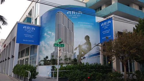 Sir Speedy Midtown Miami - Banners Aria On The Bay