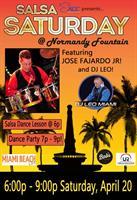 Salsa Saturday at Normandy Fountain Featuring Jose Fajardo Jr. & DJ Leo!