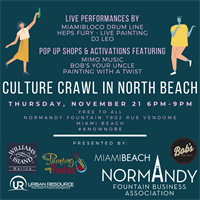 Culture Crawl Comes to North Beach!